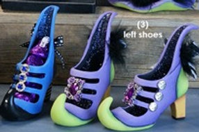 Clay Magic Gangbuster Witch Shoe Left