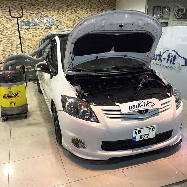 Detaylı iç temizlik ve motor koruma uygulanan aracımızı müşterimize teslim etmek üzere son işlemden
