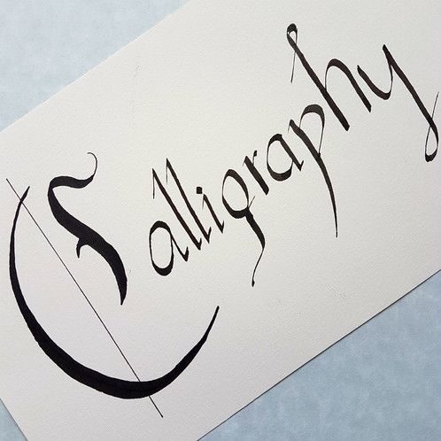Impress Your Family And Friends With A Handwritten Note Or Invitation Using The Art Of Calligraphy Learn About History Tools Materials Basic