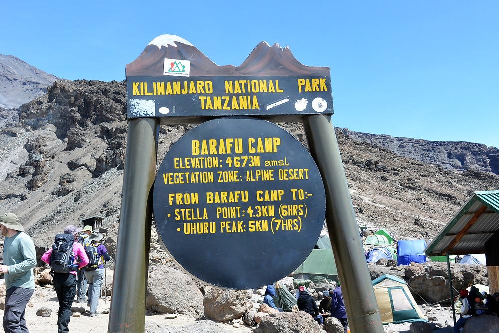 Barafu Camp, Kilimanjaro, Tanzania.