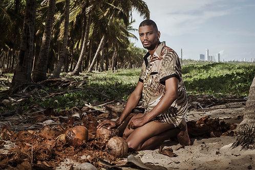 Beach Shirt Folha Seca