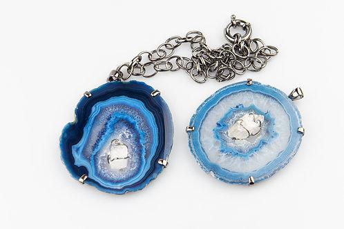Necklace cristal azul