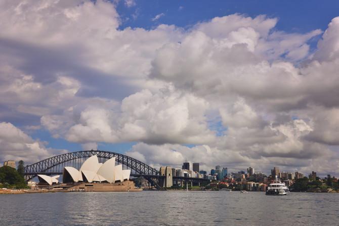 Sydney and Central Australia