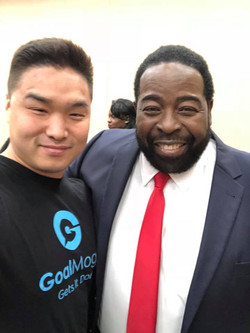 With Les Brown