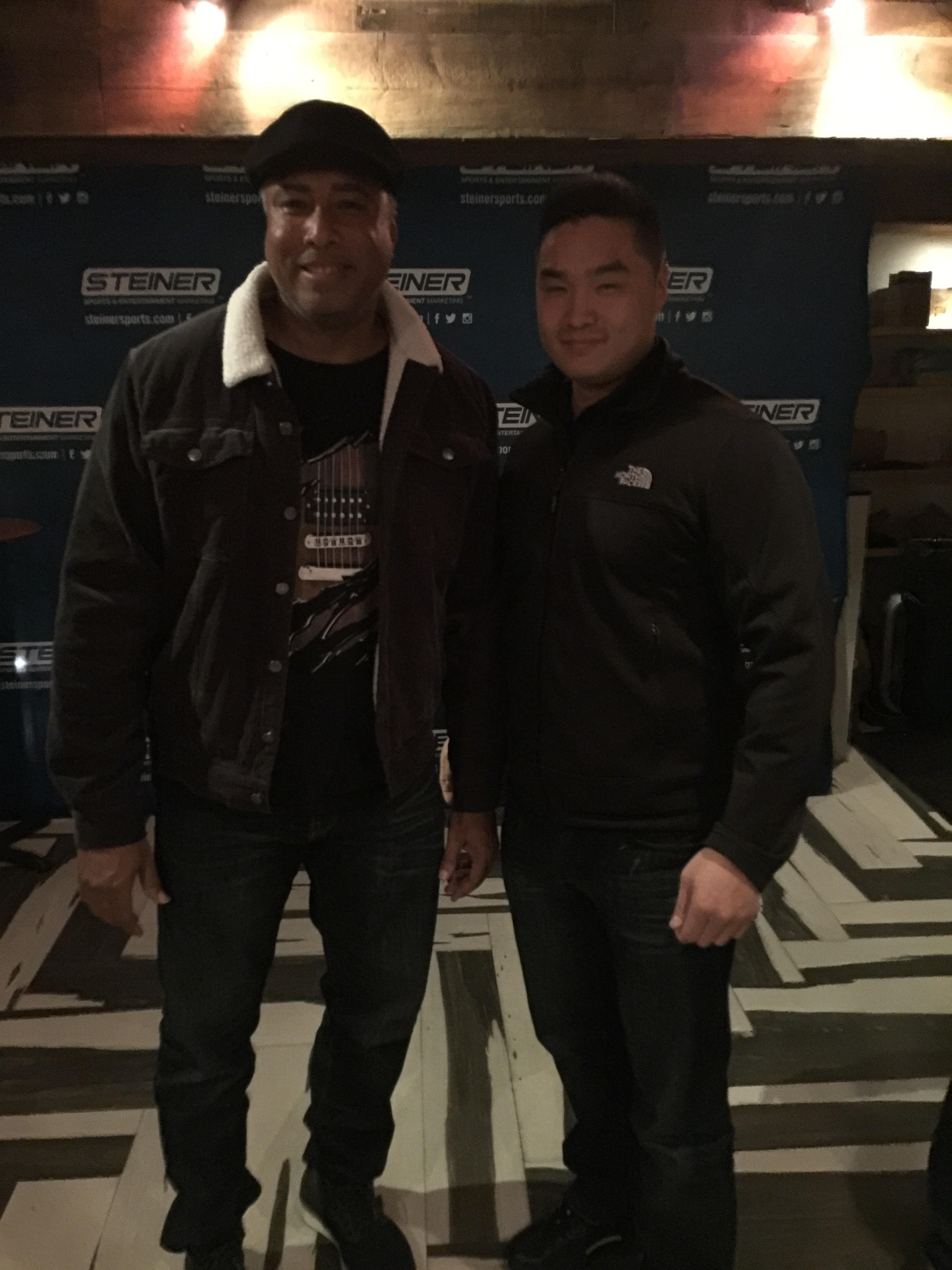 With Yankees Bernie Williams