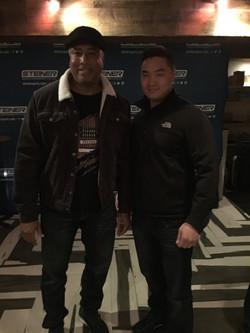 With Yankees Bernie Williams