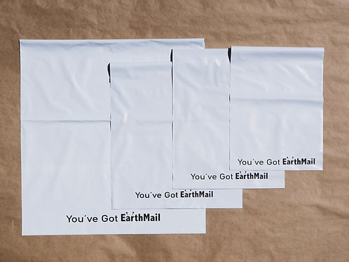 Compostable Mailers - PRE-ORDER | EarthMail Pack | Mixed Sizes | x100 pieces