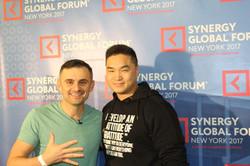 Mike Cheng with Gary Vaynerchuk