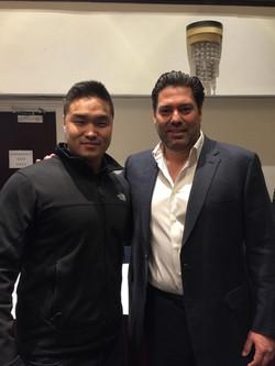 With Armando Montelongo