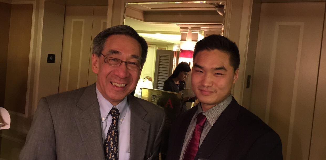 Mike Cheng with CC Pei