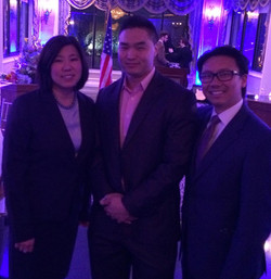 Mike Cheng with Grace & Wayne