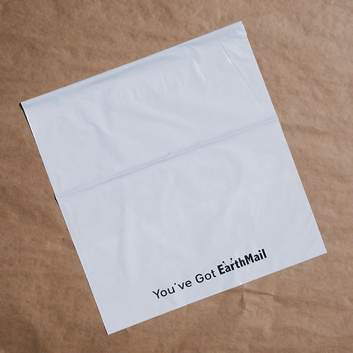 Compostable Mailers - PRE-ORDER | EarthMail Pack | X-Large | x100 pieces