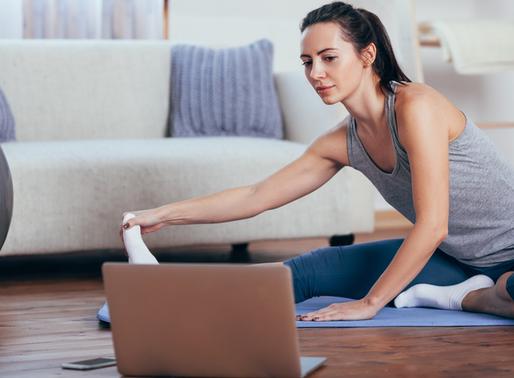 15 exercícios de PILATES para fazer em casa.