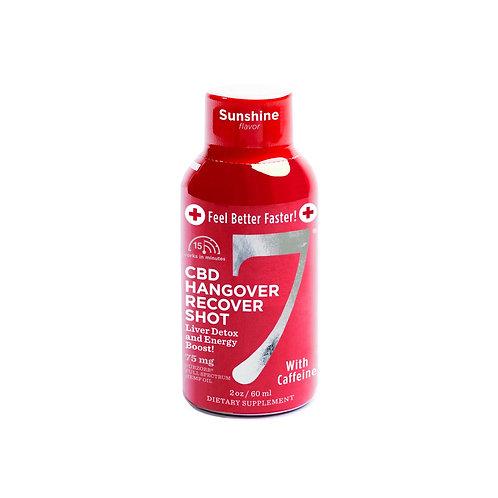 CBD7 Hangover Shot - Caffeinated