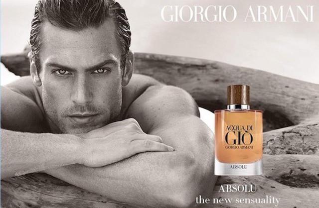 Armani Aqua di Gio by Matthew Brookes