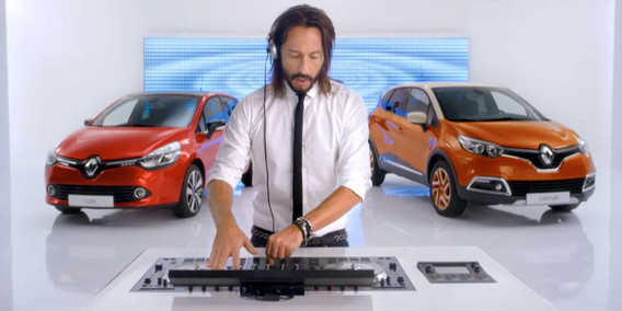 Renault with Bob Sinclar