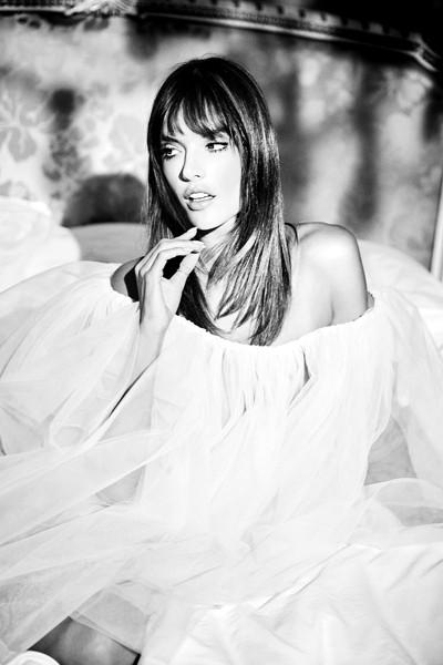 Alessandra Ambrosio by Ellen Von Unwerth