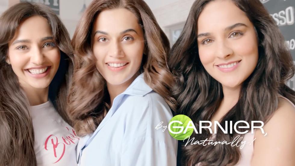 Garnier colors by Tryan George