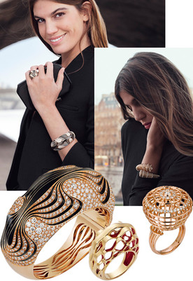 Cartier with Bianca Brandolini