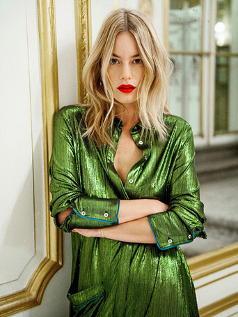 Camille Rowe by Thierno Sy