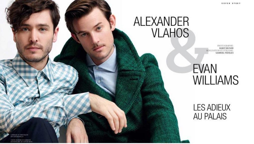 Alexandre Vlahos & Evan Williams