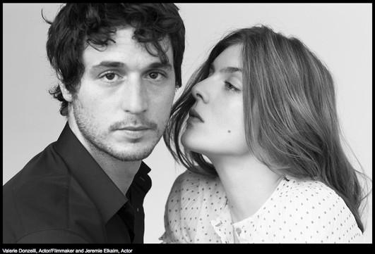 Jeremy Elkaim et Valerie Donzelli