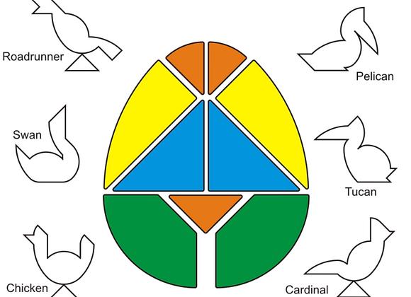 Easter Egg Birds