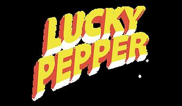LUCKY PEPPER & THE SANTA FELLAS LOGO Fon