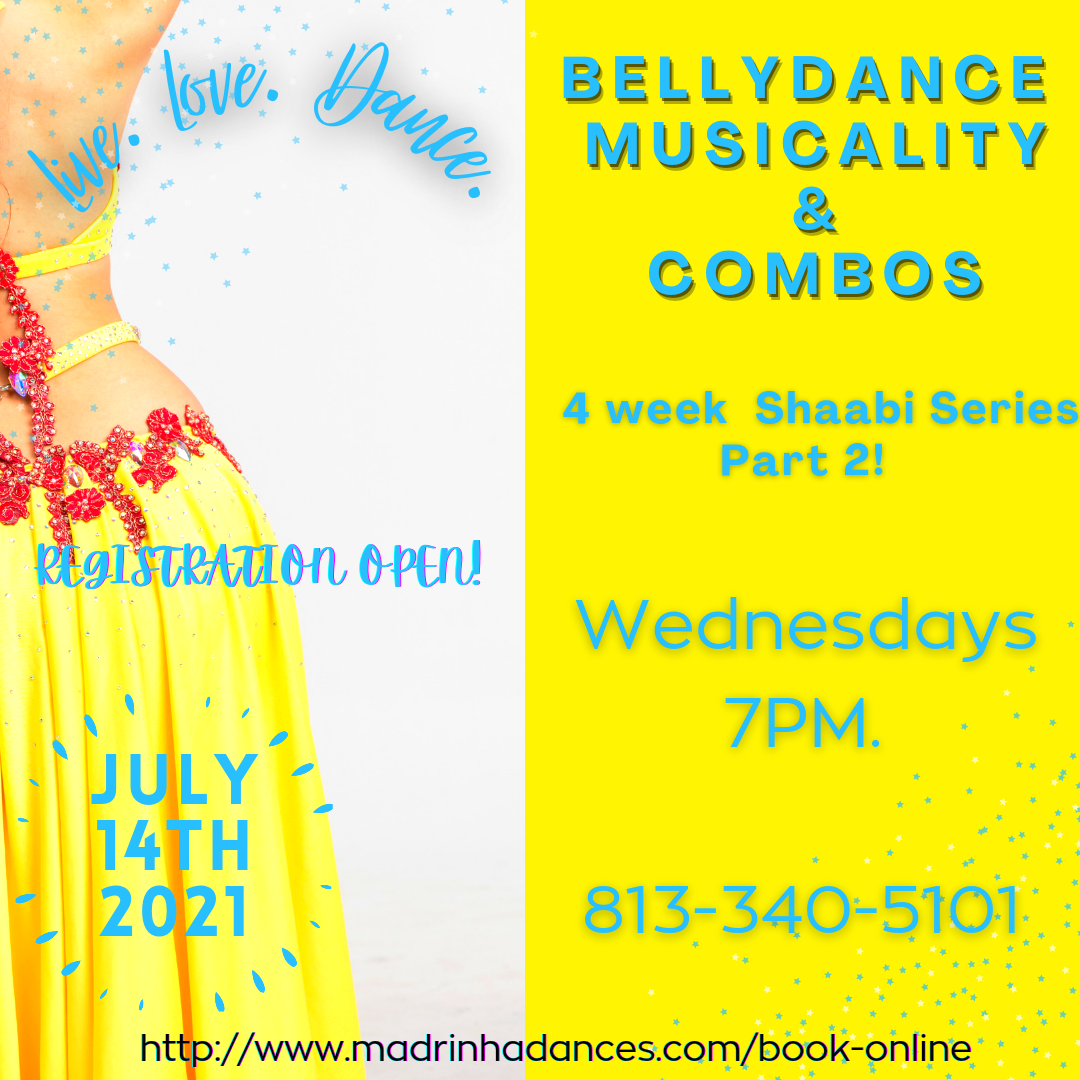 Bellydance Musicality & Combos Series