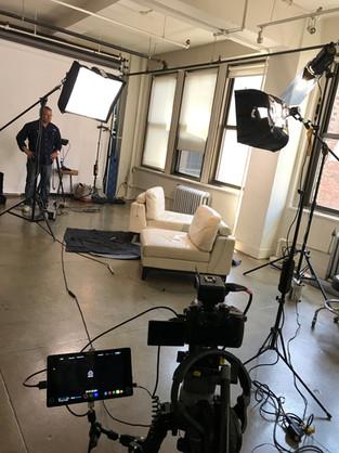 Interview set up