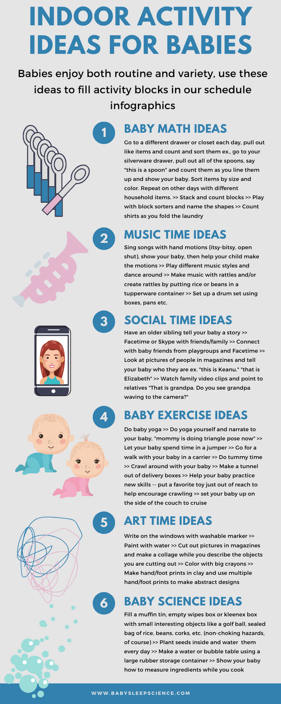 Indoor Activity Ideas for Babies
