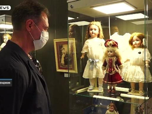 🔸Уникальная выставка антикварных кукол времён Николая II «Царские куклы»