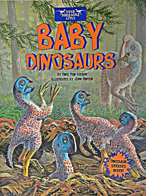 Baby Dinosaurs Sticker Book