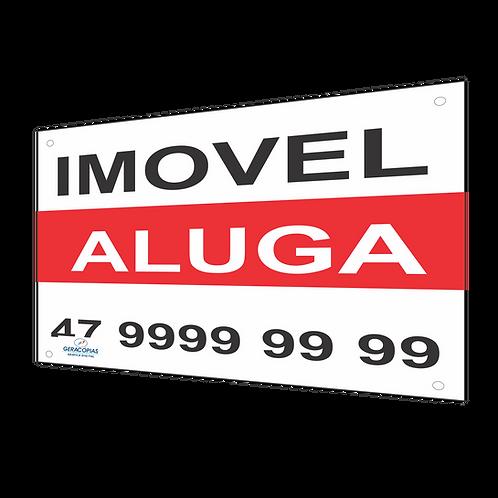 Placa imobiliária Aluga