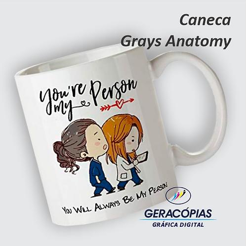 Caneca personalizada Greys Anatomy