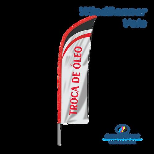Wind Banner Vela Troca de óleo
