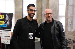 With Oscar-winner director, Paul Haggis
