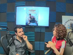 An interview with the Greek Radio