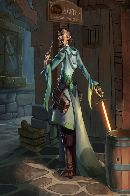 The Illusionist Wizard