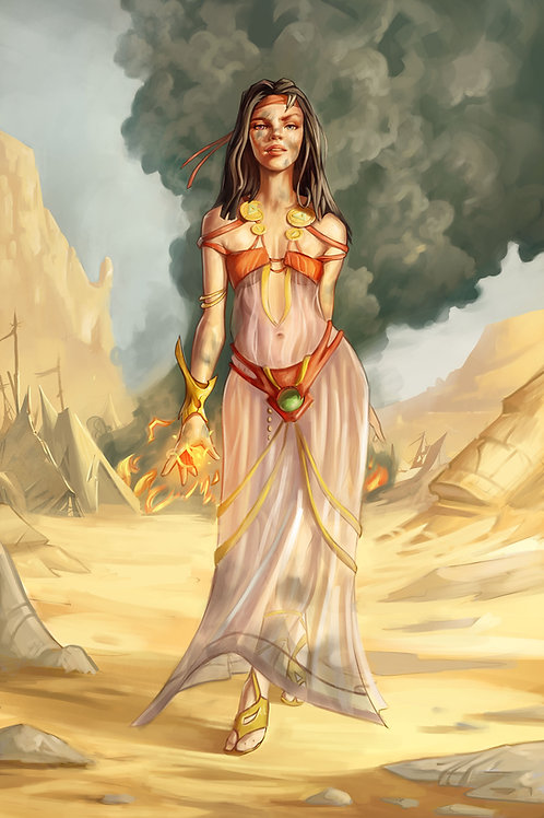 Sorceress of the Sands