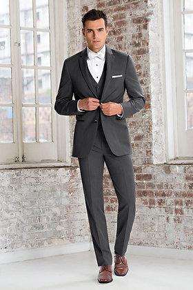 Ultra Slim Steel Grey Sterling Suit (391)