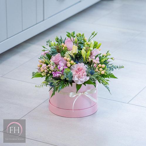 Pink Hat Box