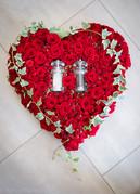 Special Rose Heart Design