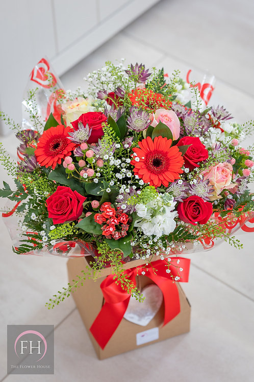 Christmas Hand Tied Bouquet
