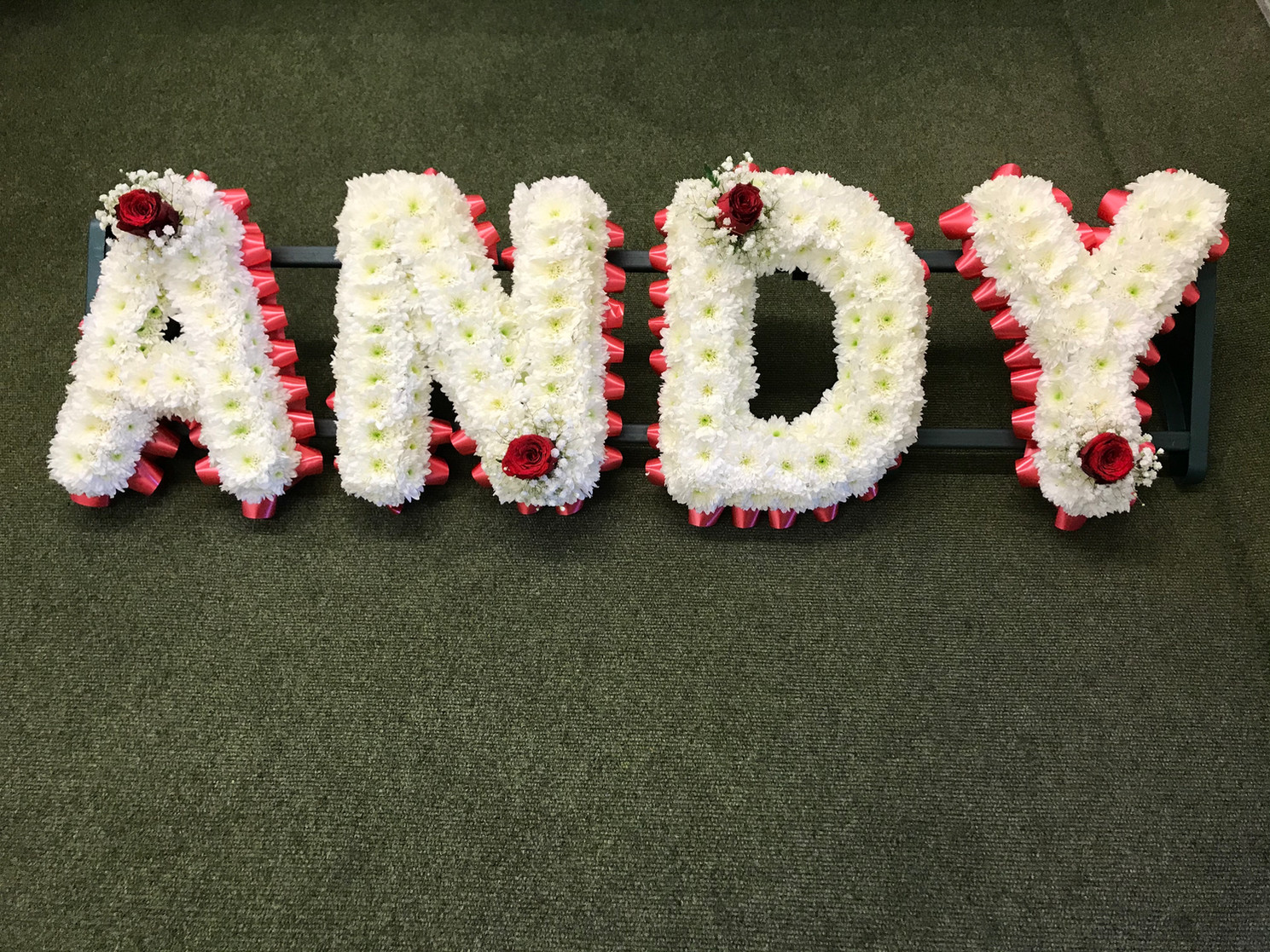 Andy in Letters