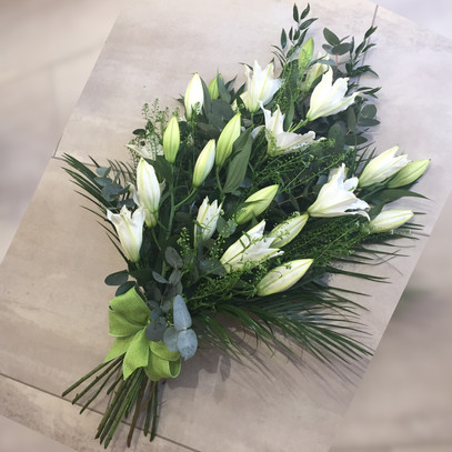 Lily Tied Bouquet
