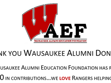 WAEF Donors - Thank You!
