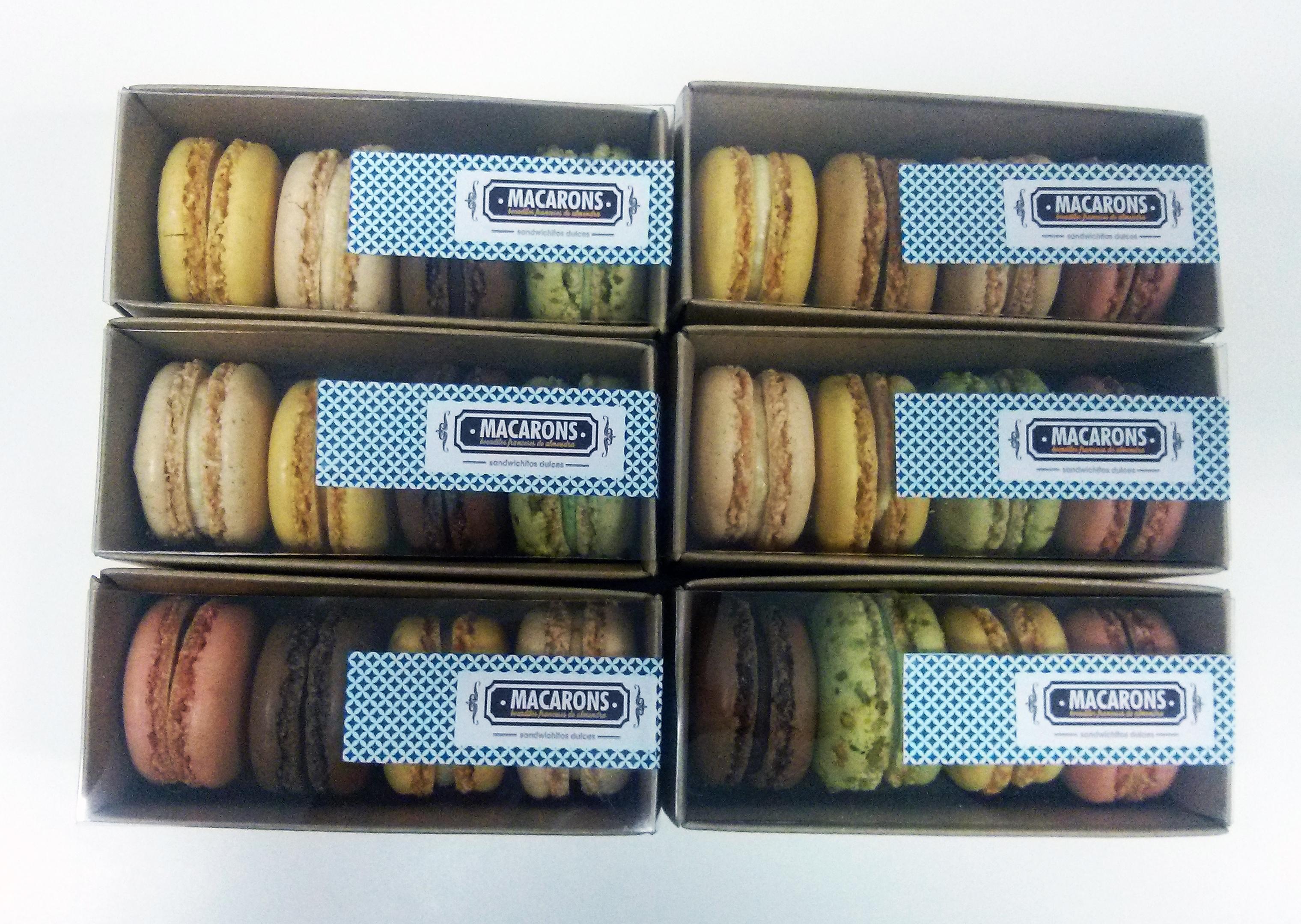 Macarons caja de 4