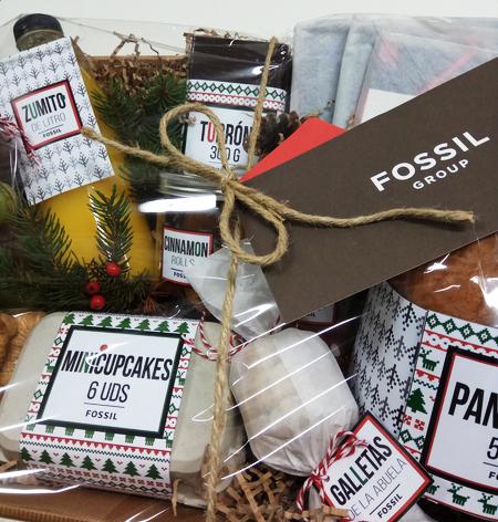 Cestas regalo navidad personalizadas