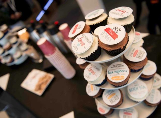 Cupcakes corporativos Steelcase